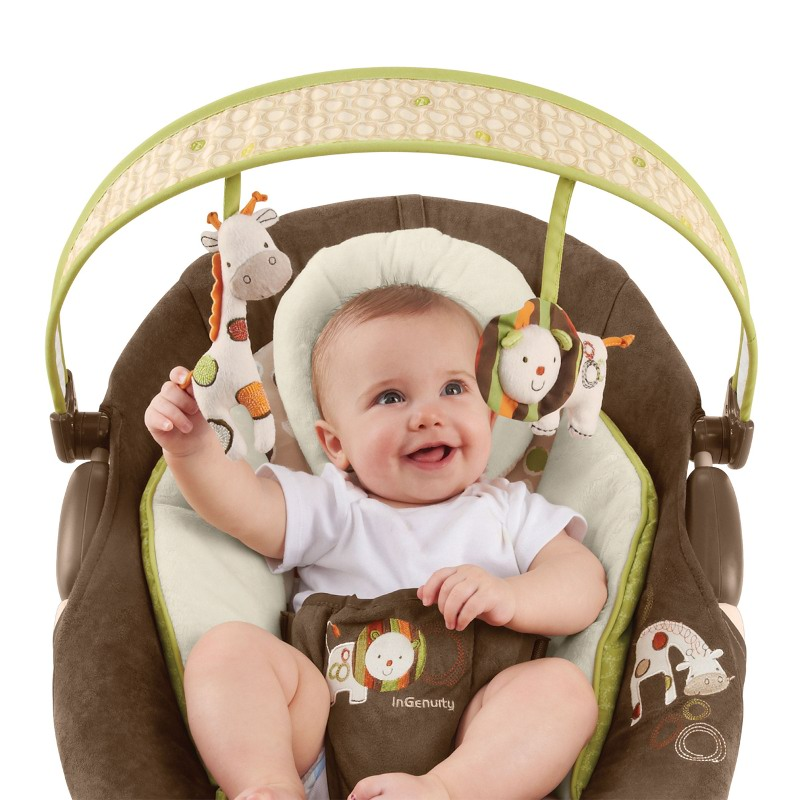 Bright Starts - InGenuity Automatic Bouncer Coco Caf