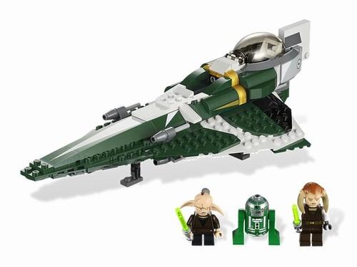 Lego - Star wars Nava Saesee Tiin's Jedi Starfighter