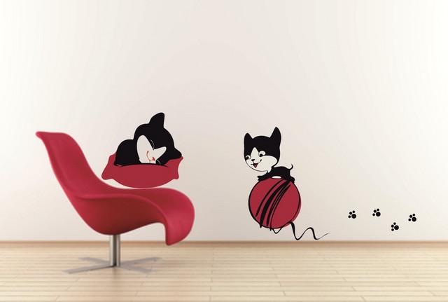 Sticker Joaca de pisici