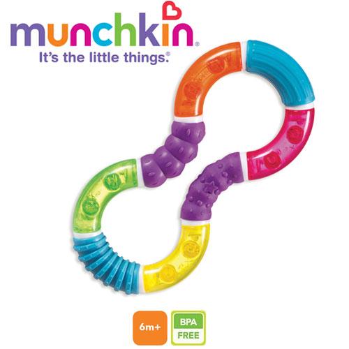 Munchkin - Jucarie dentitie Figura 8 Twisty