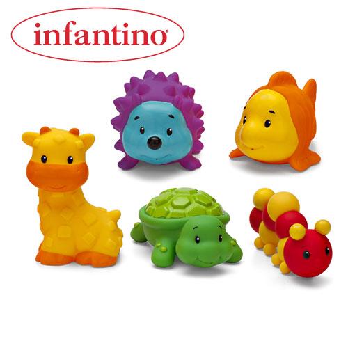 Infantino - Jucarii Prietenii Amuzanti