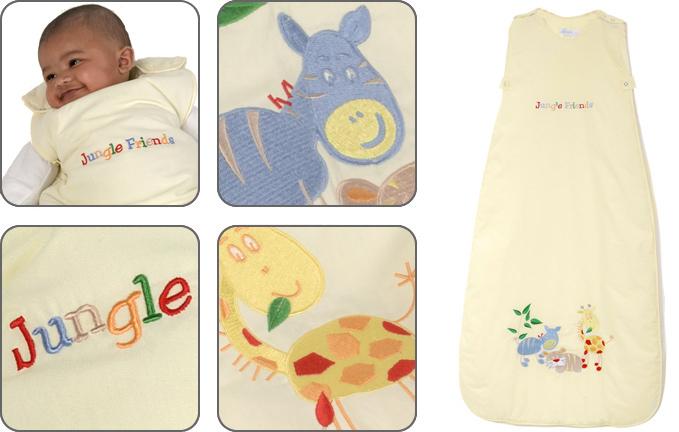 Dream Bag - Sac dormit Jungle Friends