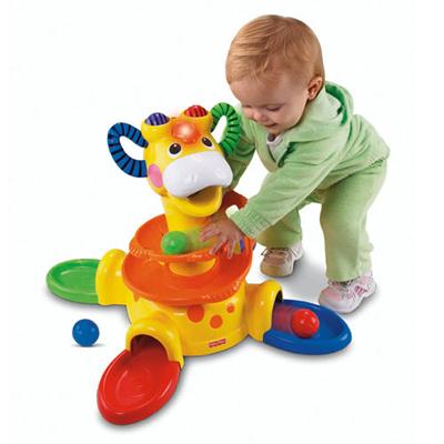 Fisher Price - Go Baby Go Sit-to-Stand Giraffe