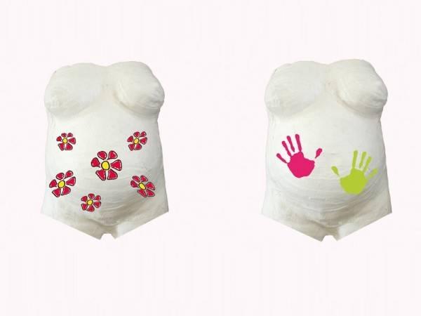 Kidzzcast - Kit mulaj burtica gravida My First Belly Print