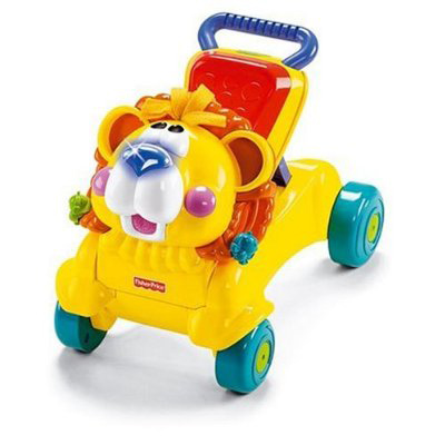 Fisher Price - Premergator 2in1 Stride to Ride Lion