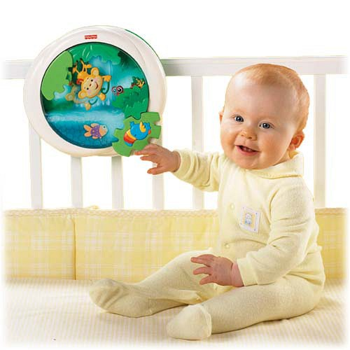 Fisher Price - Lampa muzicala Jungle