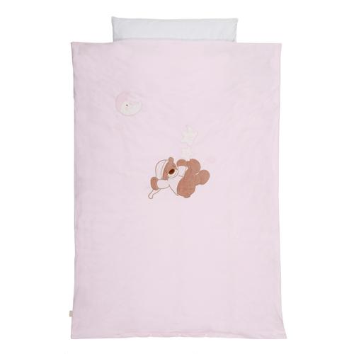 Nattou - Lenjerie de pat pentru copii Bibou