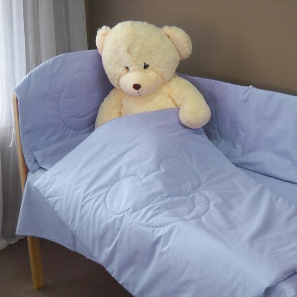 Deseda - Lenjerie patut copii Ursuletul Fericit 120x60 cm