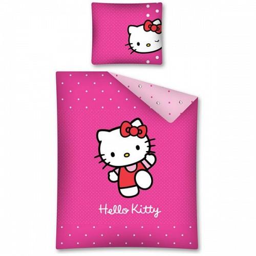 Sanrio - Lenjerie de pat Hello Kitty