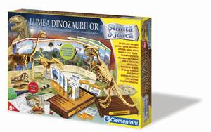 Clementoni - Lumea dinozaurilor