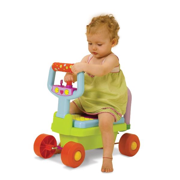 Taf Toys - Jucarie multifunctionala Prima mea masinuta 4 in1