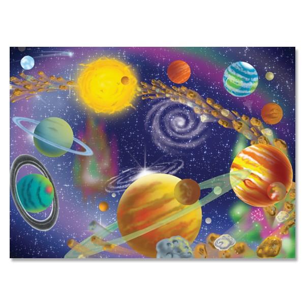 Melissa&Doug - Puzzle Infinitul Cosmos (300 piese)
