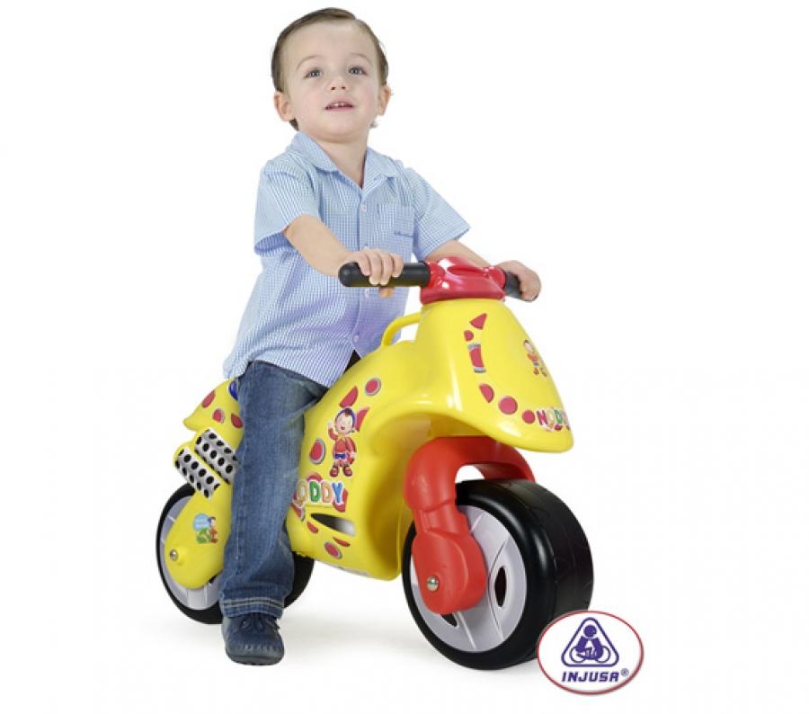 Injusa - Bicicleta fara pedale Moto Noddy