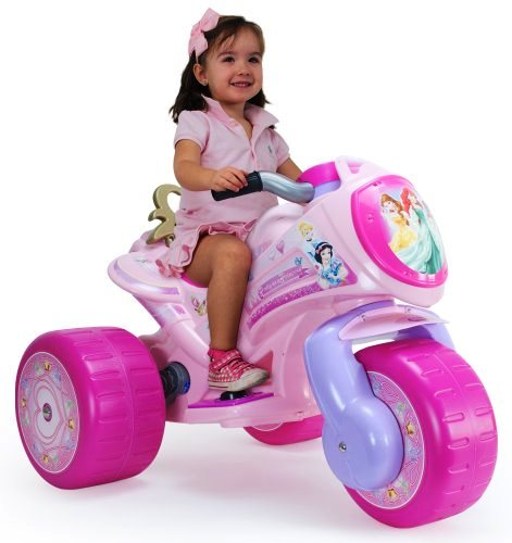 Injusa - Motoscuter electric Waves Disney Princess