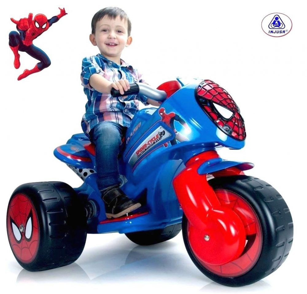 Injusa - Motoscuter electric Waves Amazing Spiderman