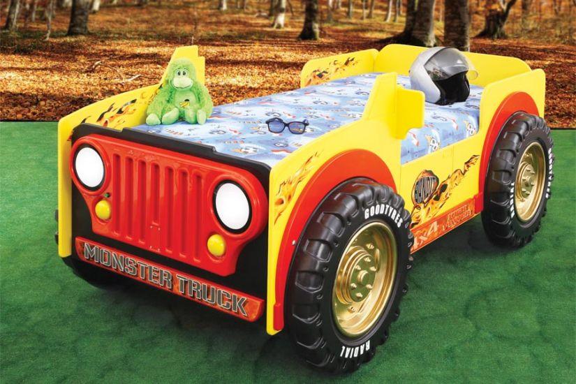 Plastiko - Patut pentru copii Monster Truck