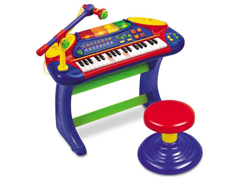 Weina by MyKids - Orga muzicala microfon si scaunel