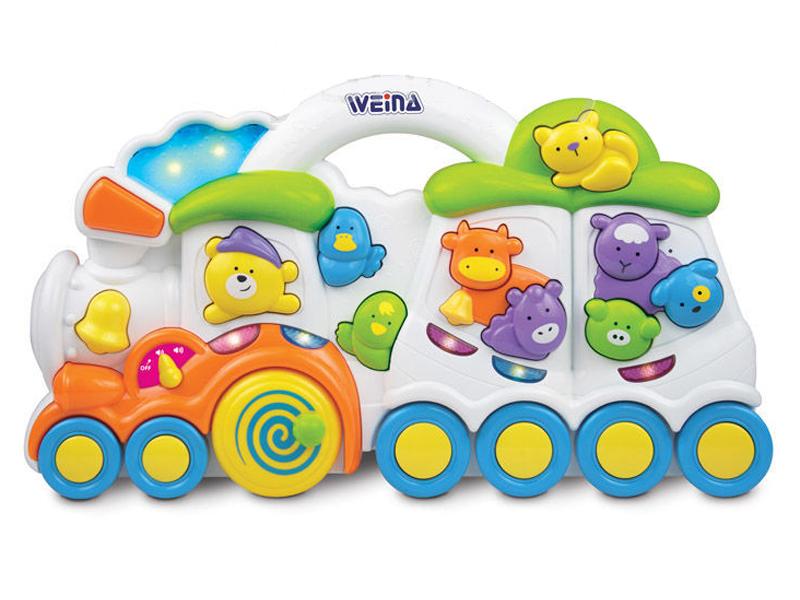 Weina by MyKids - Jucarie activitate tren muzical