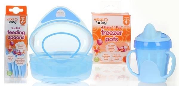 Vital Baby - Pachet Feeding 6+ luni