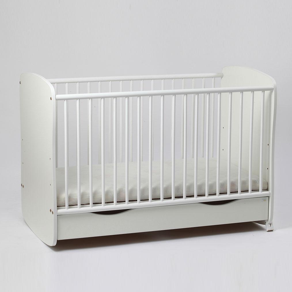 Bebe Design - Patut cu sertar si leganare Clasic Confort