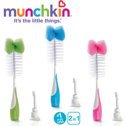 Munchkin - Perie biberoane 2 in 1