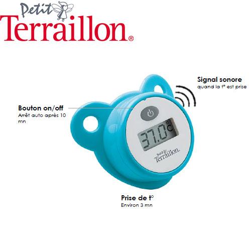 Petit Terraillon - Suzeta termometru 2015