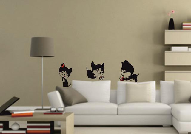 Sticker Pisici jucause