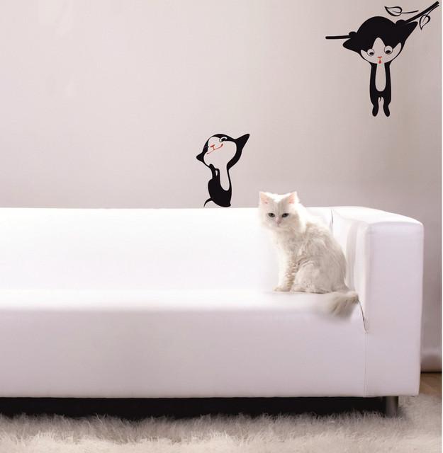 Sticker Pisici nazdravane