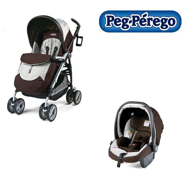 Peg-Perego - Carucior 2 in 1 Pliko P3 Compact Completo