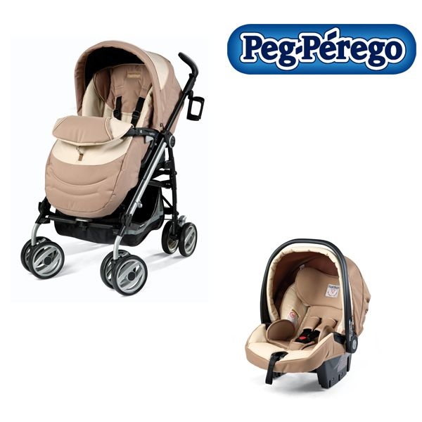 Peg-Perego - Carucior 2 in 1 Pliko Switch Compact