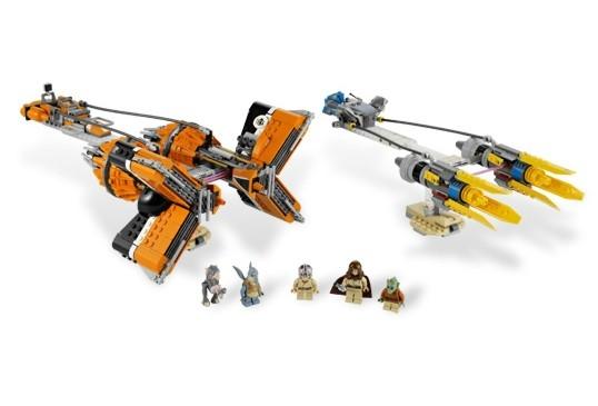 Lego - Star Wars Anakin Skywalker and Sebulba's Podracers