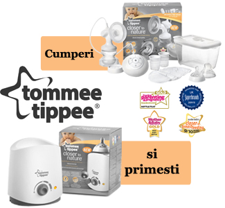 Tommee Tippee - Pompa electrica  incalzitor electric gratuit