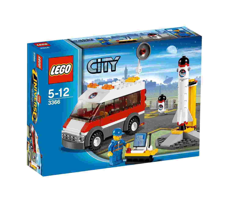 Lego - City Space rampa de lansare