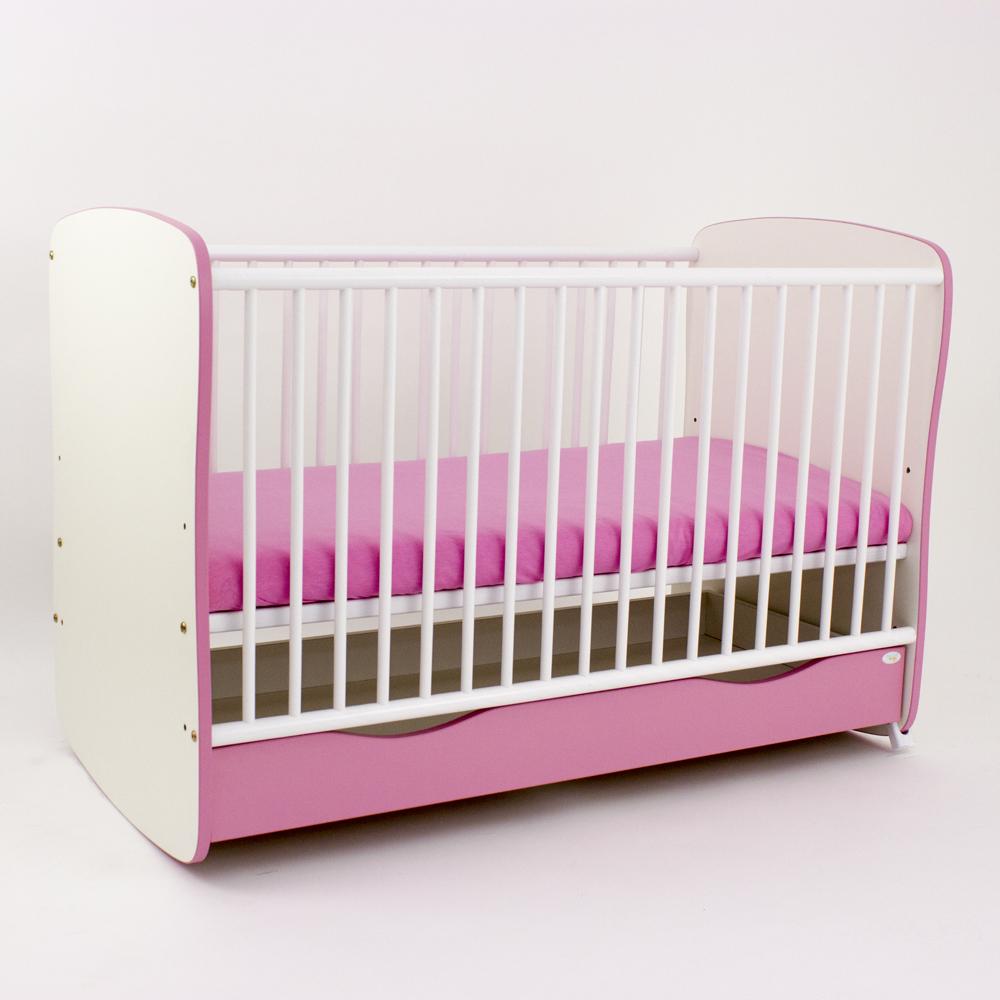 Bebe Design - Patut cu sertar si leganare color Clasic Confort