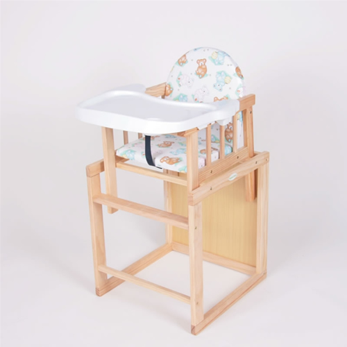 Bambino World - Scaun de masa din lemn
