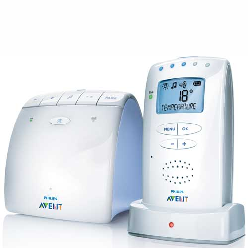 Philips Avent - Sistem DECT de monitorizare copii 525