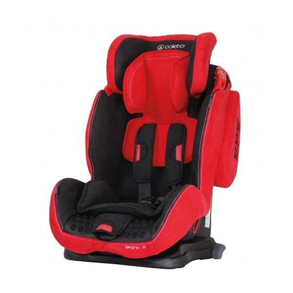 Coletto - Scaun auto Sportivo cu Isofix red