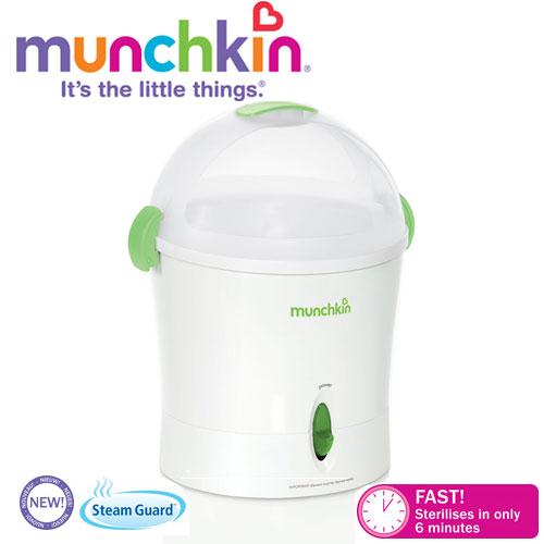 Munchkin - Sterilizator electric 6 biberoane Ultrarapid