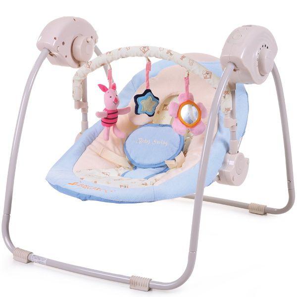 Cangaroo - Leagan electronic Baby Swing cu conectare la priza