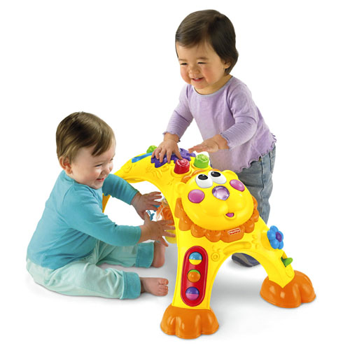 Fisher Price - Centru activitati Cruise Around Activity Lion