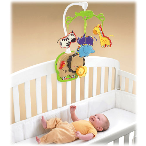 Fisher Price -  Carusel Baby Zoo