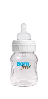 Born Free - Biberon ActiveFlow din sticla termorezistenta 150 ml