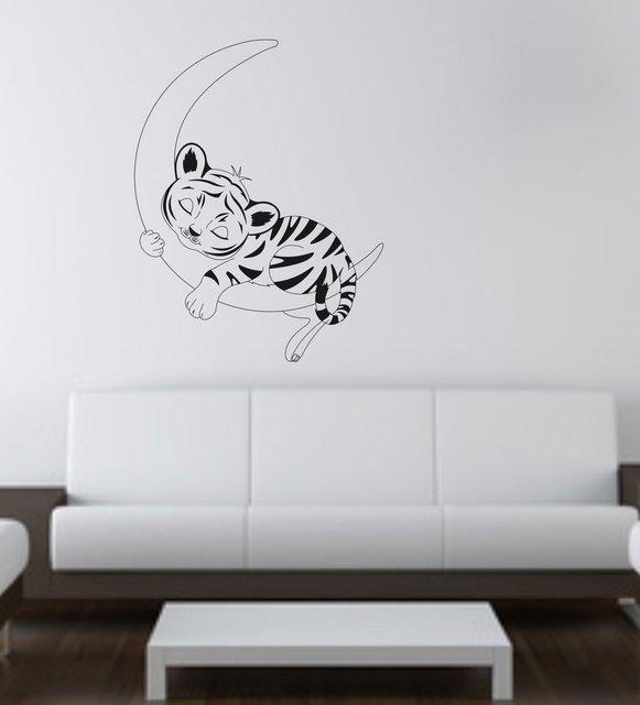 Sticker Tigrisorul somnoros