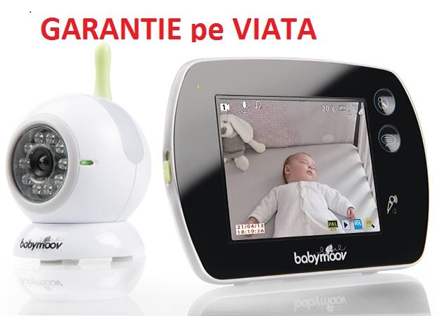 Babymoov - Videointerfon bi-directional cu Touch Screen