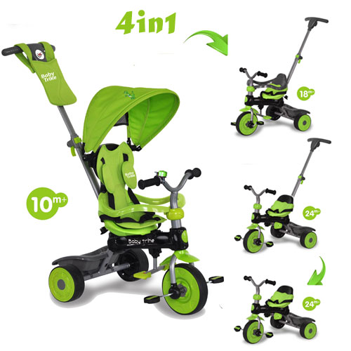 Baby Trike - Tricicleta 4 in 1