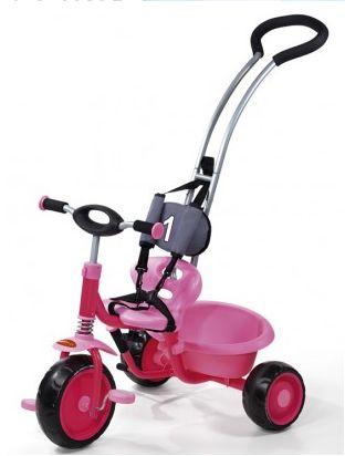 Hauck - Tricicleta roz