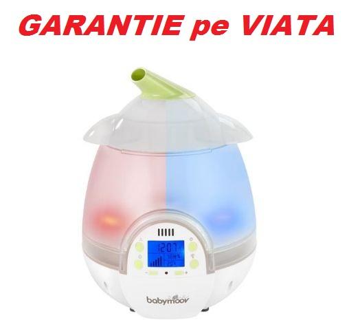 Babymoov - Umidificator digital cu ultrasunete si higrometru