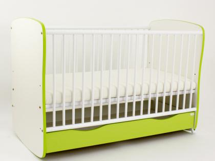 Bebe Design - Patut cu sertar color Clasic Confort  Lenjerie