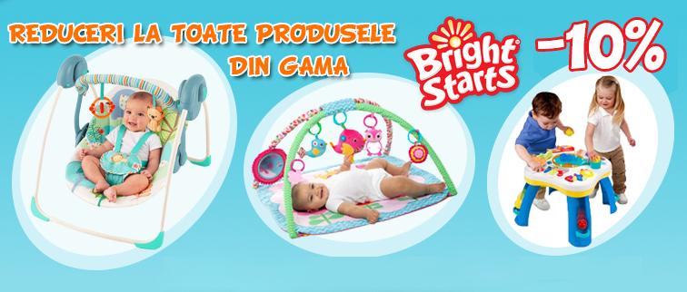 Bright Starts promo