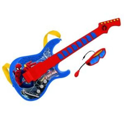 Reig Musicales - Chitara Spiderman cu ochelari si microfon